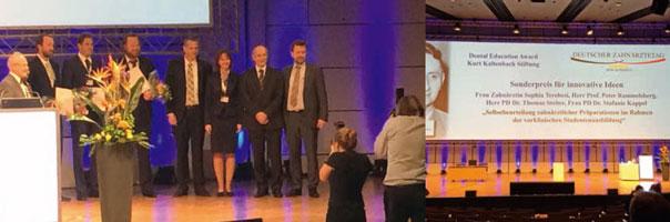 Kurt Kaltenbach Stiftung verleiht Dental Education Awards 2015
