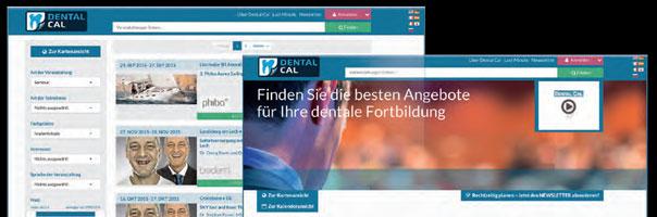 Dental Cal – der übersichtliche Kalender für dentale Fortbildungen