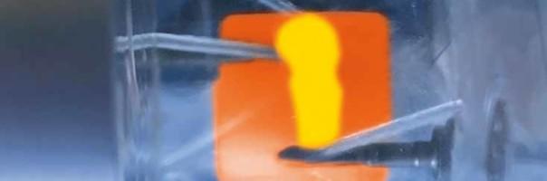 Teilkrone aus einem fräsbaren nanokeramischen Hybrid-CAD/CAM-Block