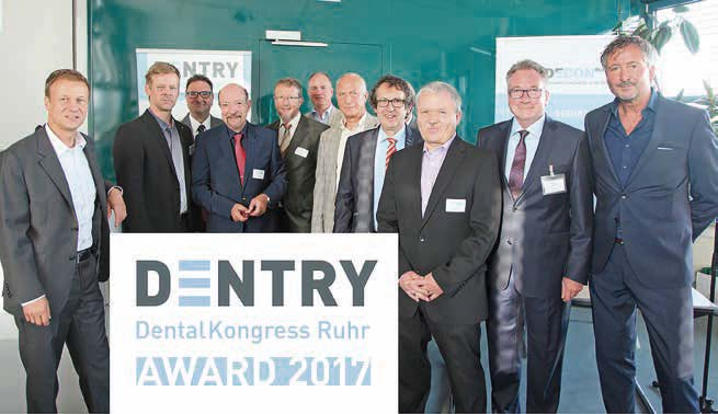 DENTRY Award 2019: Bewerbungen werden bis Ende August angenommen!