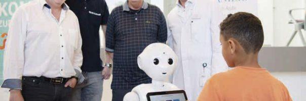 Roboter in der Zahnarztpraxis