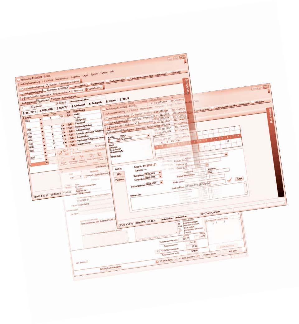 Abrechnungssoftware für das zahntechnische Labor